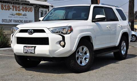 2016 Toyota 4Runner for sale at AMC Auto Sales, Inc. in Fremont CA