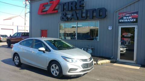 2017 Chevrolet Cruze for sale at EZ Tire & Auto in North Tonawanda NY