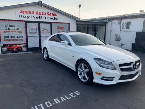 2012 Mercedes-Benz CLS for sale at Speed Auto Sales in El Cajon CA