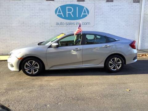 2016 Honda Civic for sale at ARIA  AUTO  SALES in Raleigh NC