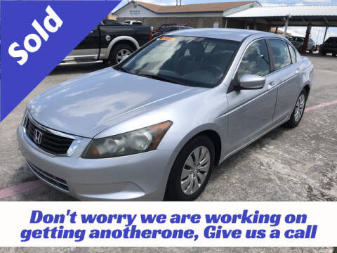 2009 Honda Accord for sale at RIVERCITYAUTOFINANCE.COM in New Braunfels TX