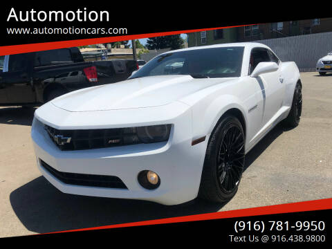 2011 Chevrolet Camaro for sale at Automotion in Roseville CA