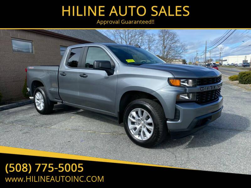 2020 Chevrolet Silverado 1500 for sale at HILINE AUTO SALES in Hyannis MA