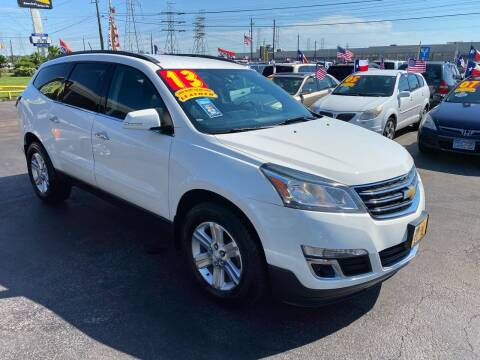 2013 Chevrolet Traverse for sale at Texas 1 Auto Finance in Kemah TX