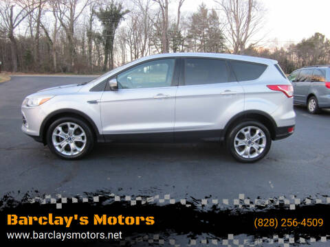 2013 Ford Escape for sale at Barclay's Motors in Conover NC