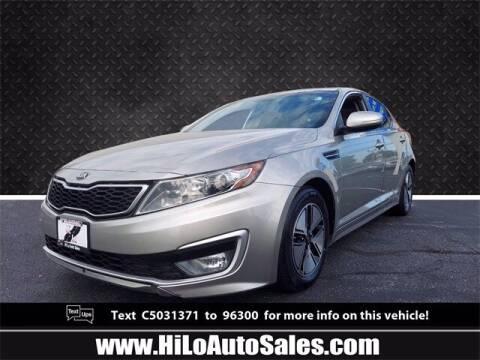 2012 Kia Optima Hybrid for sale at Hi-Lo Auto Sales in Frederick MD