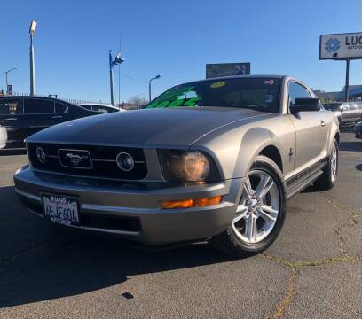 2008 Ford Mustang for sale at LUGO AUTO GROUP in Sacramento CA