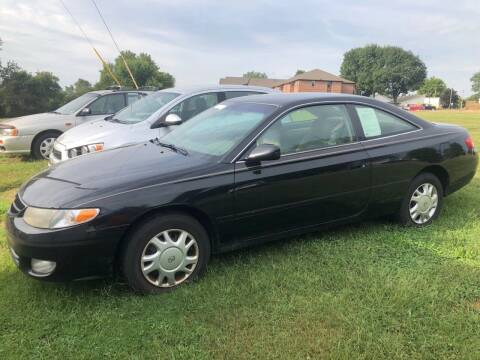 2000 Toyota Camry Solara for sale at WINEGARDNER AUTOMOTIVE LLC in New Lexington OH