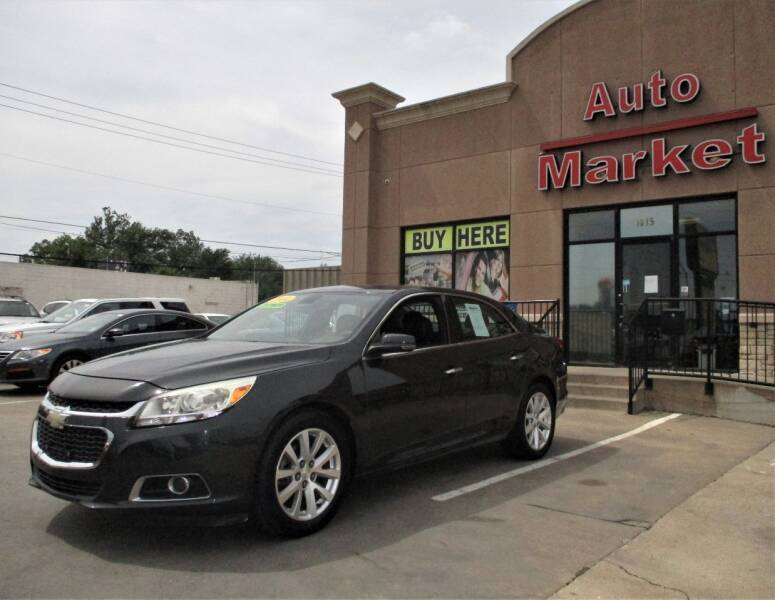 2014 Chevrolet Malibu for sale at Auto Market in Oklahoma City OK