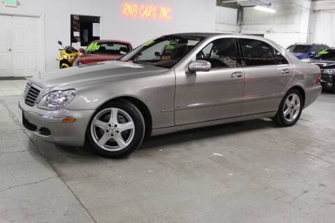 2005 Mercedes-Benz S-Class for sale at R n B Cars Inc. in Denver CO