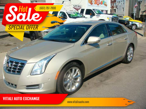 2014 Cadillac XTS for sale at VITALI AUTO EXCHANGE in Johnson City NY