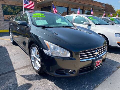 2009 Nissan Maxima for sale at Zs Auto Sales in Kenosha WI