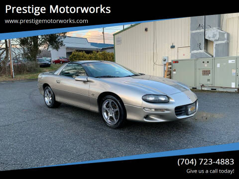 2002 Chevrolet Camaro for sale at Prestige Motorworks in Concord NC