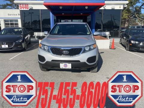 2011 Kia Sorento for sale at 1 Stop Auto in Norfolk VA