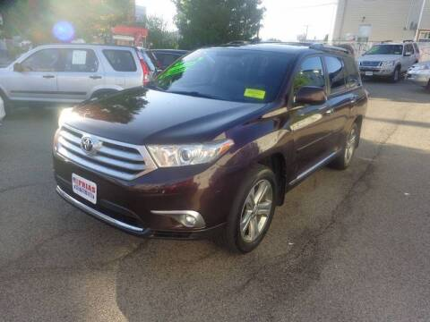 2011 Toyota Highlander for sale at FRIAS AUTO SALES LLC in Lawrence MA