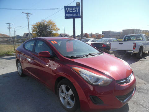 2011 Hyundai Elantra for sale at VEST AUTO SALES in Kansas City MO