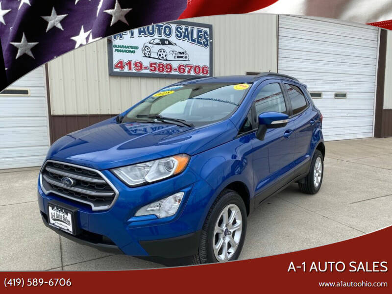 2018 Ford EcoSport for sale at A-1 AUTO SALES in Mansfield OH