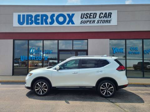 2017 Nissan Rogue for sale at Ubersox Used Car Superstore in Monroe WI