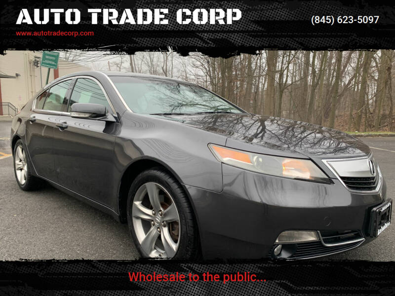 2012 Acura TL for sale at AUTO TRADE CORP in Nanuet NY