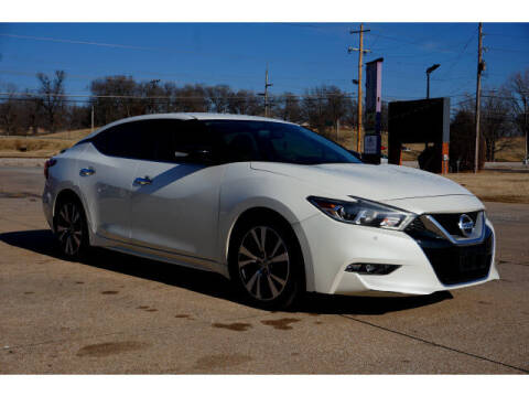2017 Nissan Maxima for sale at Sand Springs Auto Source in Sand Springs OK