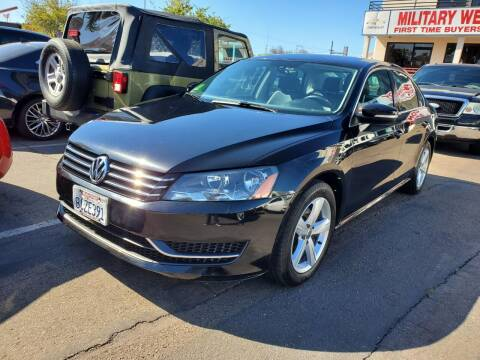2014 Volkswagen Passat for sale at Convoy Motors LLC in National City CA