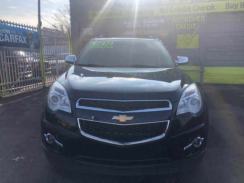 2012 Chevrolet Equinox for sale at Friendly Auto Sales in Detroit MI