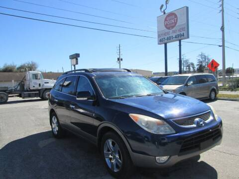 2009 Hyundai Veracruz for sale at Motor Point Auto Sales in Orlando FL