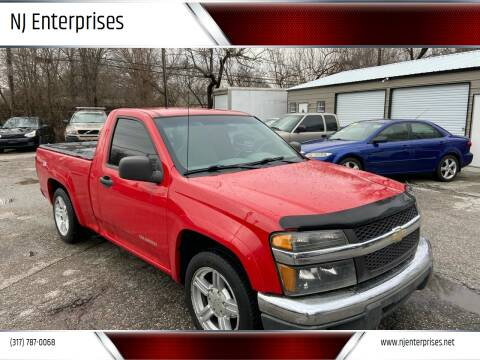 2004 Chevrolet Colorado for sale at NJ Enterprises in Indianapolis IN