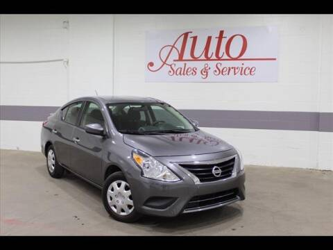 2018 Nissan Versa for sale at Auto Sales & Service Wholesale in Indianapolis IN