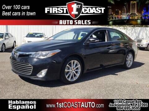 2013 Toyota Avalon for sale at 1st Coast Auto -Cassat Avenue in Jacksonville FL