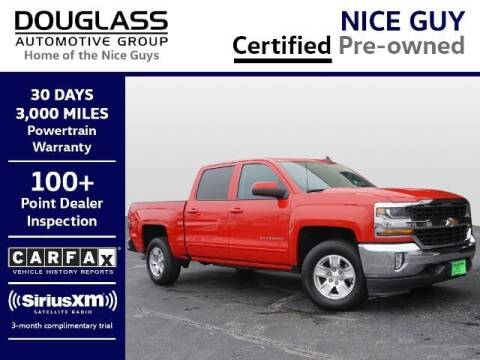 2018 Chevrolet Silverado 1500 for sale at Douglass Automotive Group - Douglas Chevrolet Buick GMC in Clifton TX
