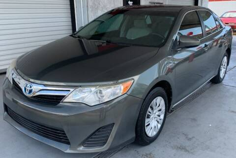 2012 Toyota Camry Hybrid for sale at Tiny Mite Auto Sales in Ocean Springs MS