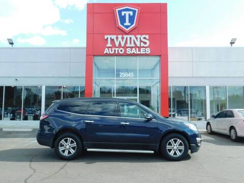 2015 Chevrolet Traverse for sale at Twins Auto Sales Inc Redford 1 in Redford MI