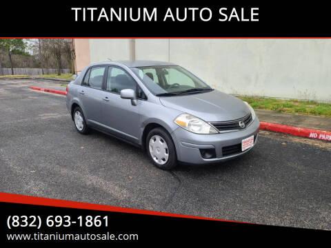 2011 Nissan Versa for sale at TITANIUM AUTO SALE in Houston TX
