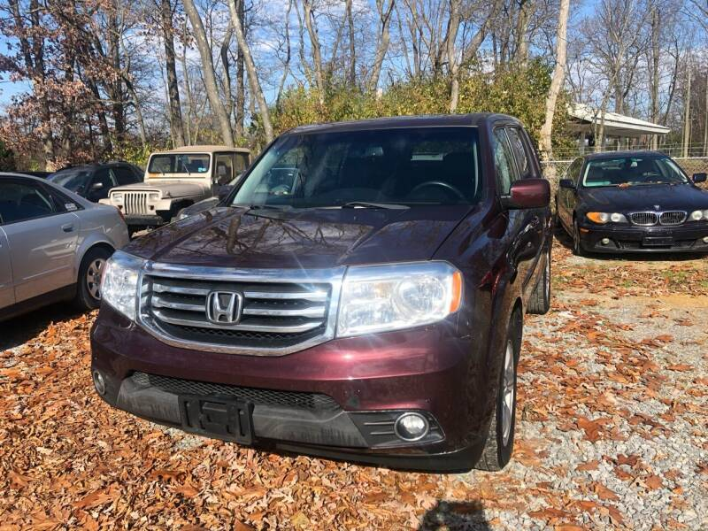 2013 Honda Pilot for sale at Noble PreOwned Auto Sales in Martinsburg WV