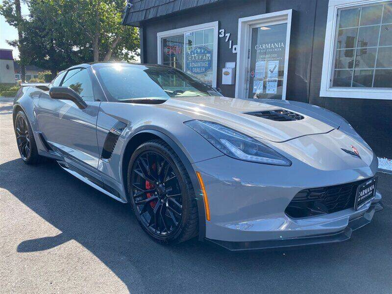 2018 Chevrolet Corvette for sale at Carmania of Stevens Creek in San Jose CA
