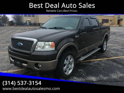 2006 Ford F-150 for sale at Best Deal Auto Sales in Saint Charles MO