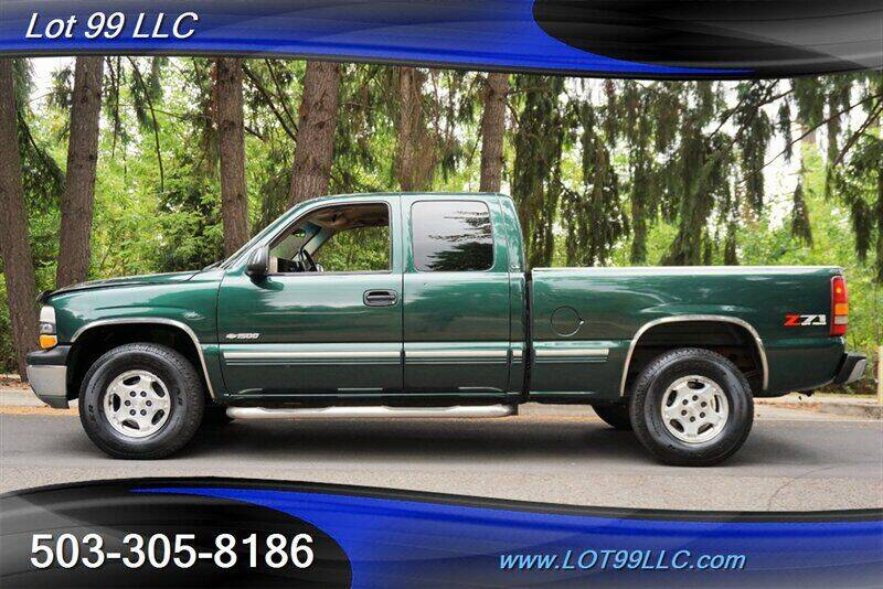 2002 Chevrolet Silverado 1500 for sale at LOT 99 LLC in Milwaukie OR