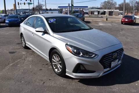 2019 Hyundai Sonata for sale at World Class Motors in Rockford IL