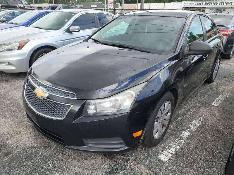 2012 Chevrolet Cruze for sale at Castle Used Cars in Jacksonville FL