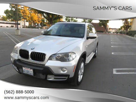"""2008 BMW X5 for sale at SAMMY""""S CARS in Bellflower CA"""