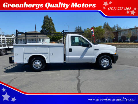 2003 Ford F-250 Super Duty for sale at Greenbergs Quality Motors in Napa CA