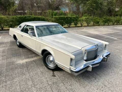 1978 Lincoln Continental for sale at Classic Car Deals in Cadillac MI