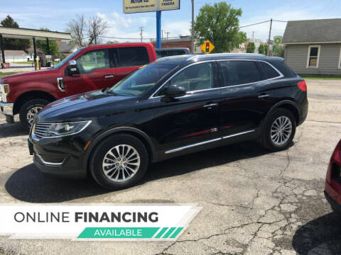 2018 Lincoln MKX for sale at Albia Motor Co in Albia IA
