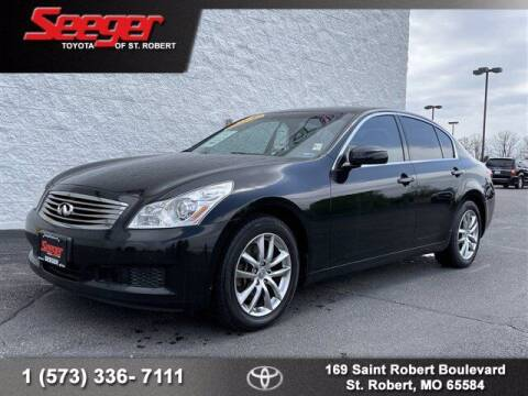 2007 Infiniti G35 for sale at SEEGER TOYOTA OF ST ROBERT in St Robert MO