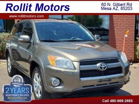 2009 Toyota RAV4 for sale at Rollit Motors in Mesa AZ
