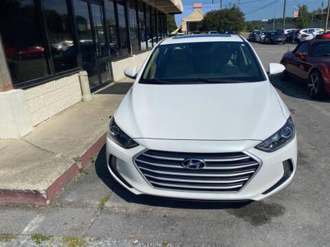 2018 Hyundai Elantra for sale at J Franklin Auto Sales in Macon GA