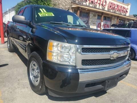 2011 Chevrolet Silverado 1500 for sale at USA Auto Brokers in Houston TX