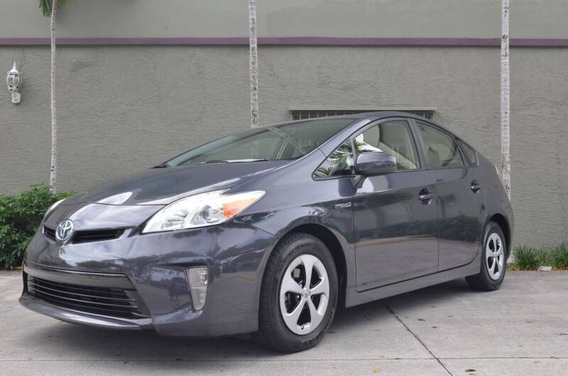 2014 Toyota Prius for sale at ALWAYSSOLD123 INC in North Miami Beach FL