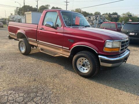1994 Ford F-150 for sale at JEFF MILLENNIUM USED CARS in Canton OH
